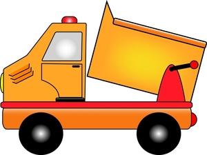 Cartoon clipart dump truck Clipart Free truck Panda Clipart