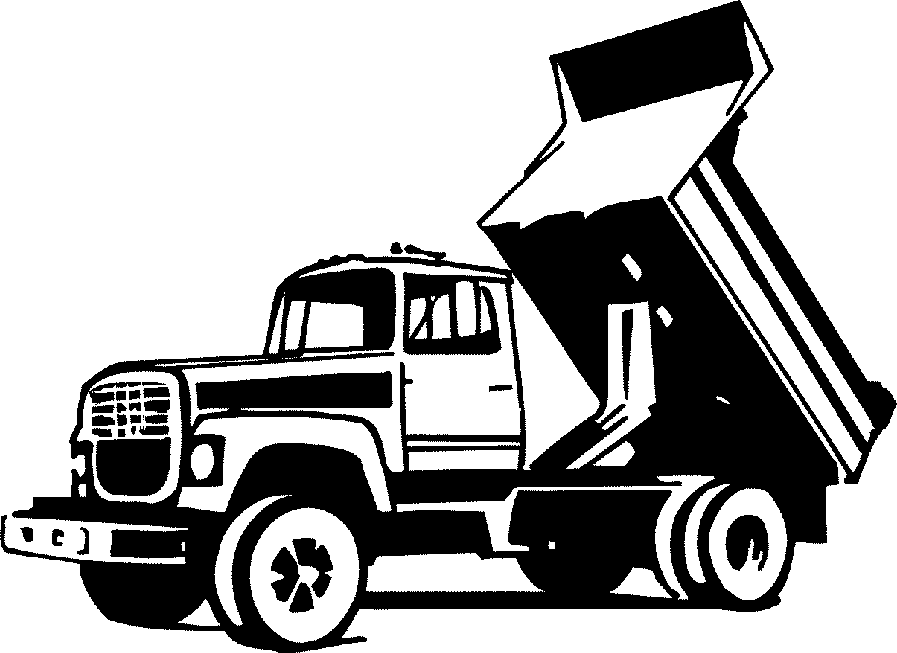 Trash clipart landfill site  clipart Collection truck dump