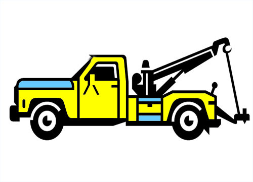 Truck clipart tow truck Towing a Tow Tow Truck
