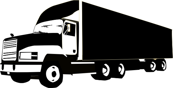 Black clipart lorry At com Man collection Truck