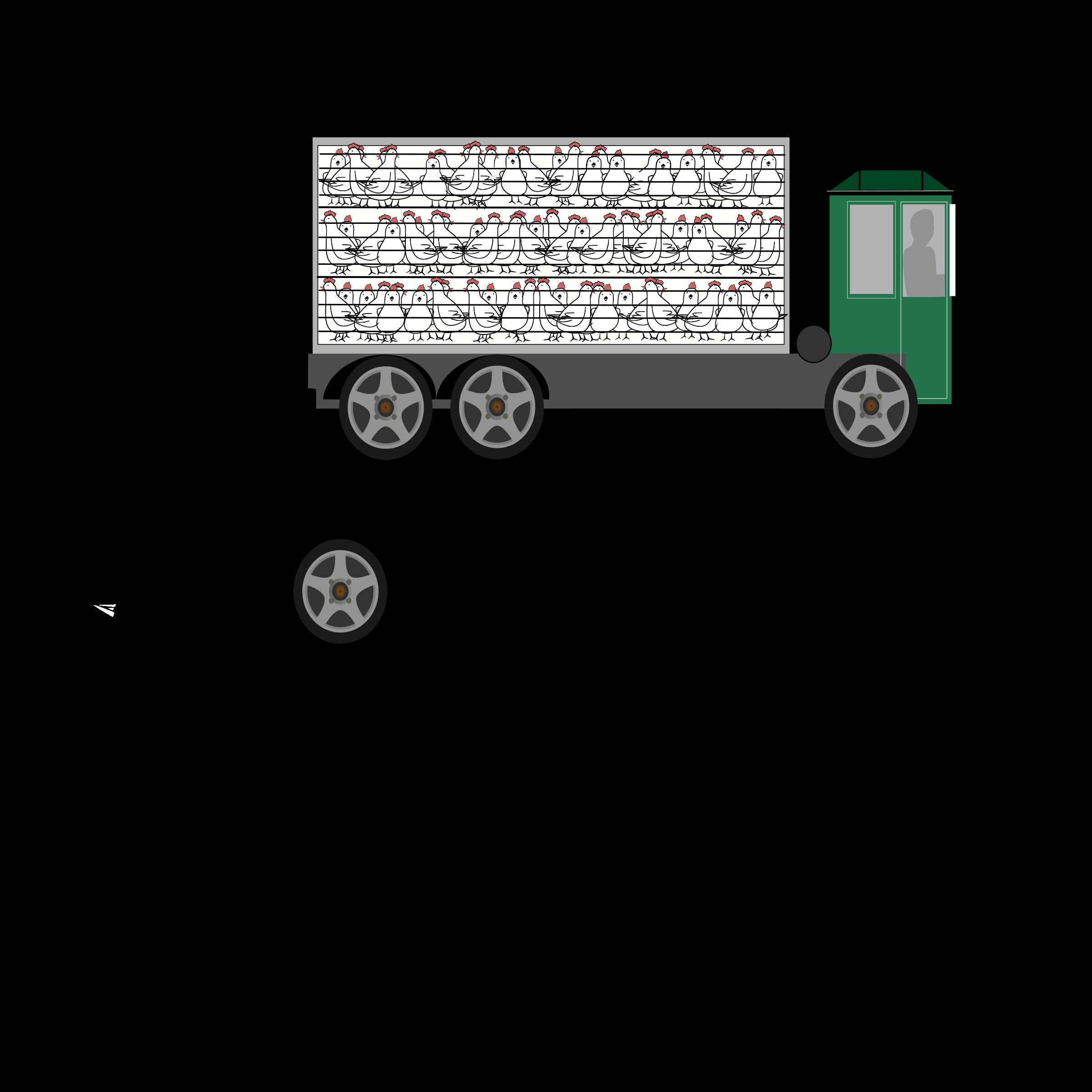 Truck clipart transport truck Truck animal Truck animal transport