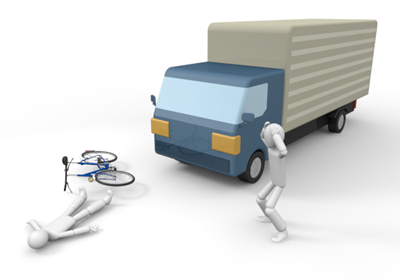 Traffic clipart truck accident #3