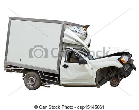 Wreck clipart truck accident #2