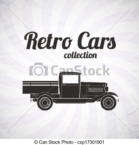 Truck clipart vintage truck Pickup collection car  car