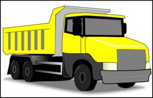 Truck clipart yellow truck Com vector Clip art Yellow