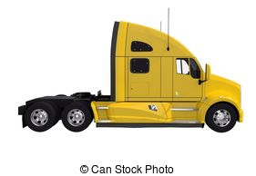 Truck clipart yellow truck And Clipart Tractor 806 on