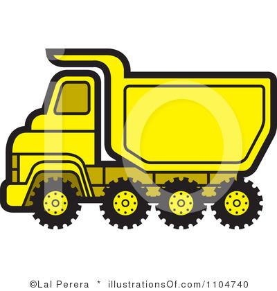 Truck clipart yellow truck Panda And Clipart Truck Clipart