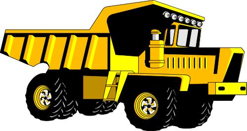 Truck clipart yellow truck Clip Clipart Download Art Truck
