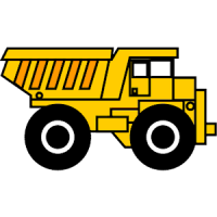 Truck clipart yellow truck Images on White Clipart Free