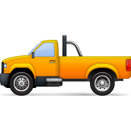Truck clipart yellow truck Image Icon com Yellow ClipArt