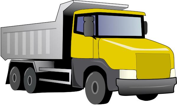 Truck clipart yellow truck The Free Truck Clipart Truck