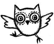 Owlet clipart creepy Ideas types on pictures Free