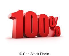 True clipart 100% Clip 100 percent percent