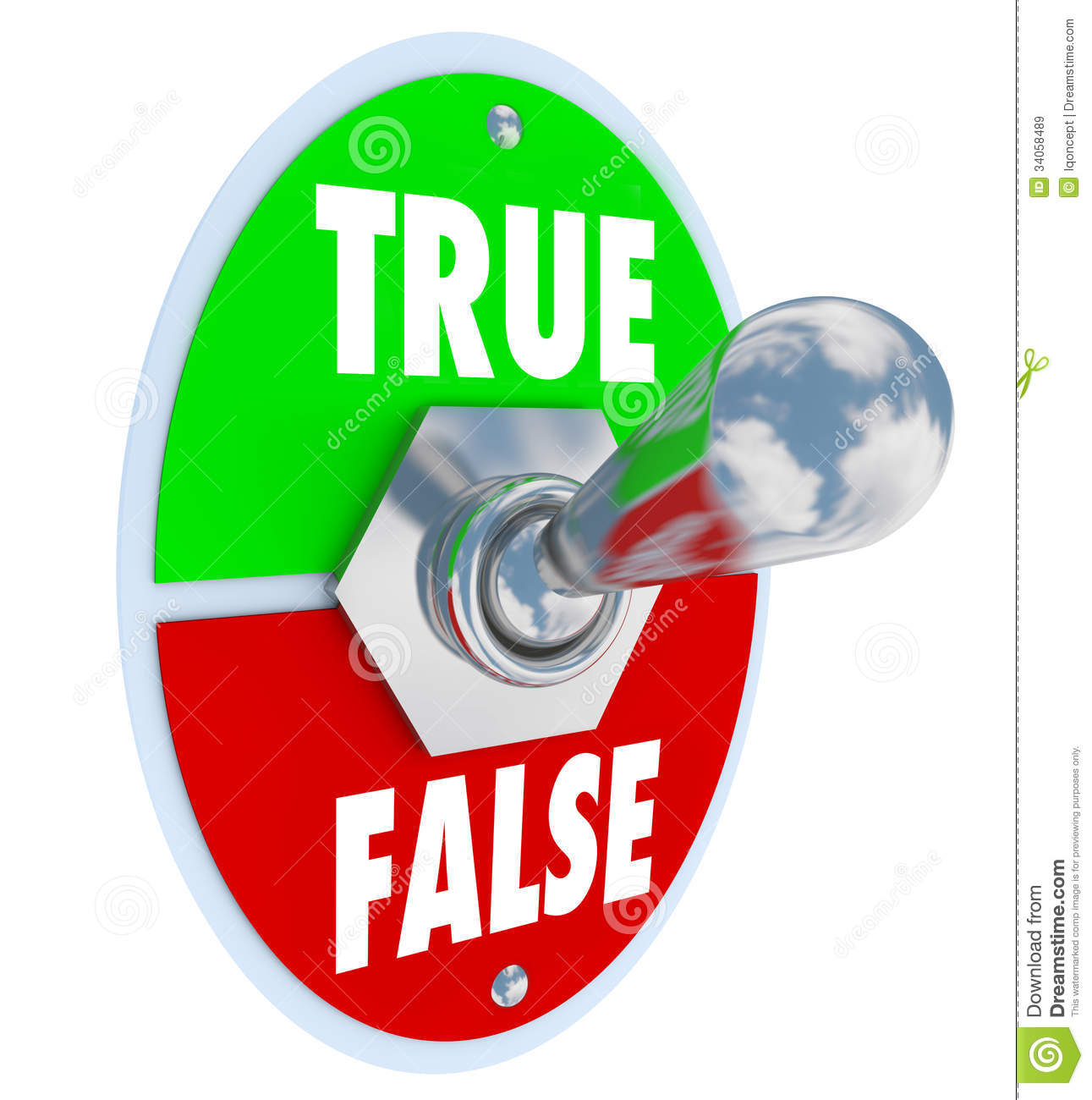 True clipart False Or True Clipart Download
