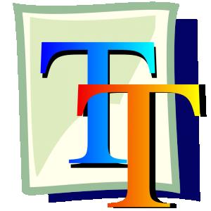 True clipart data handling Clip True Download Font Truetype