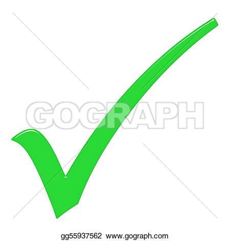 True clipart green tick Tick Sign Free with Correct