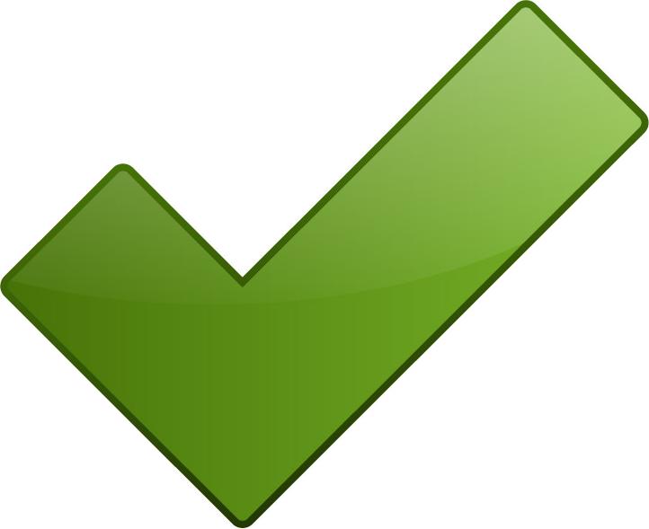 True clipart green tick Software web ubiCabs Green dispatch