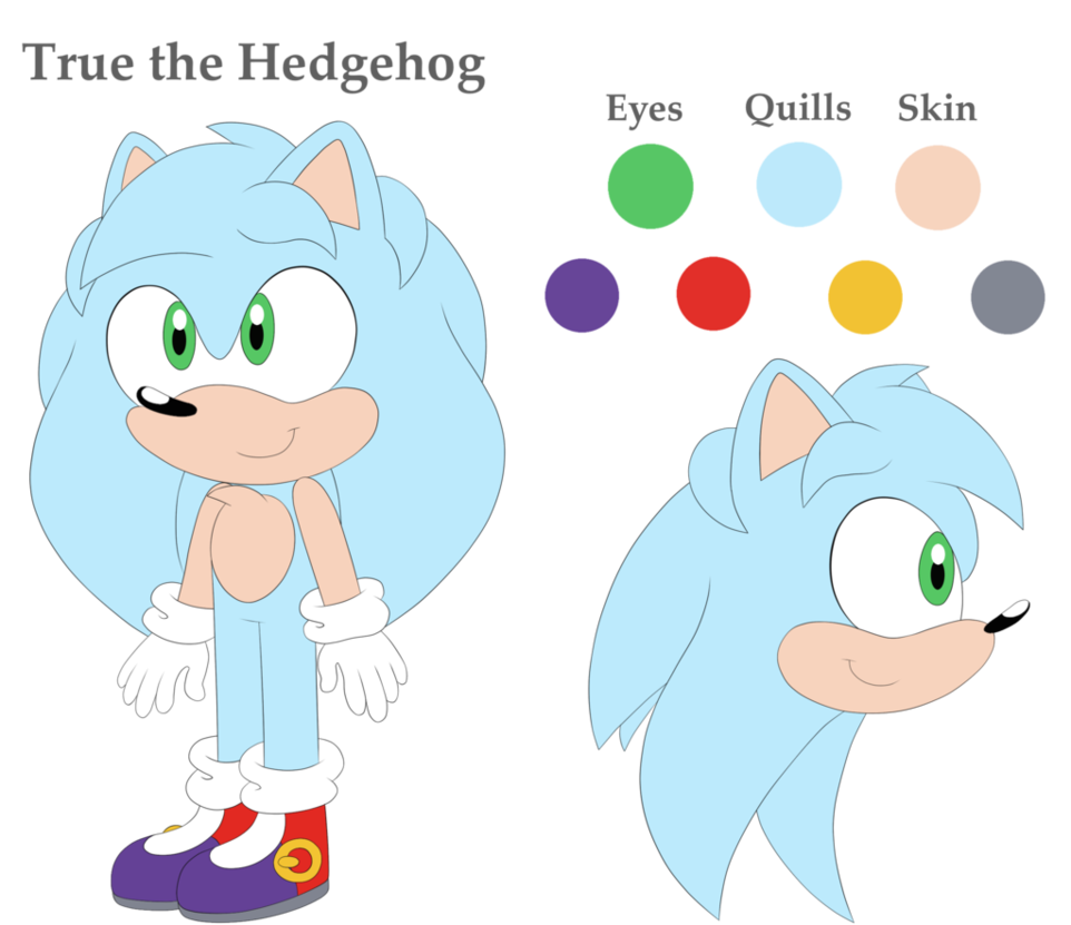 True clipart reference Hedgehog CitrusGalaxy DeviantArt by CitrusGalaxy