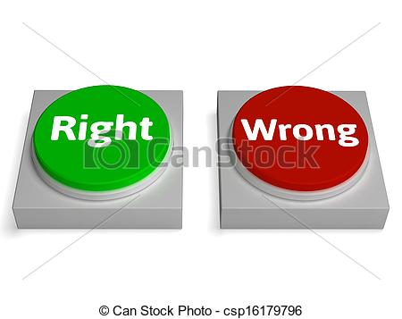 True clipart right wrong Show Wrong True Or Buttons