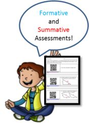 True clipart summative assessment Math students and information images