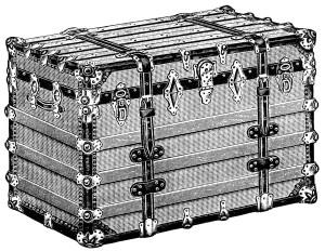 Chest clipart trunk Clipart  illustration trunk illustration