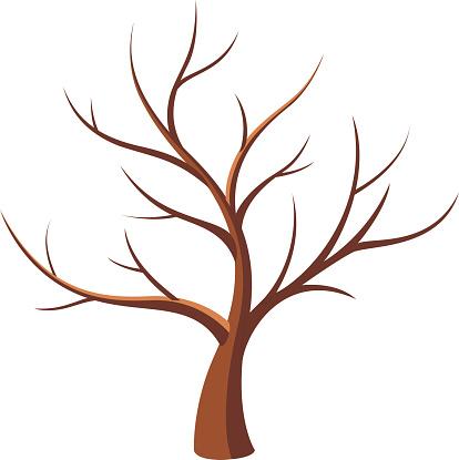 Barren clipart autumn tree Tree tree Bare collection clipart