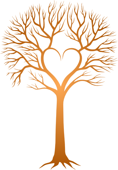 Brown clipart bare tree Clipart Trunk Love Tree cliparts