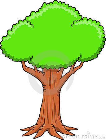 Tree clipart big tree #1