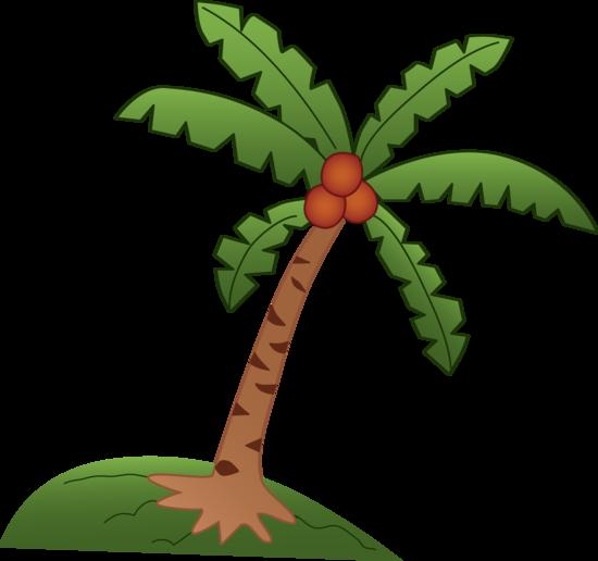 Trunk clipart coconut tree #6