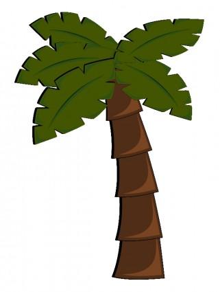 Trunk clipart coconut tree #8