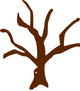 Brown clipart tree trunk Tree clipart drawings Download Tree