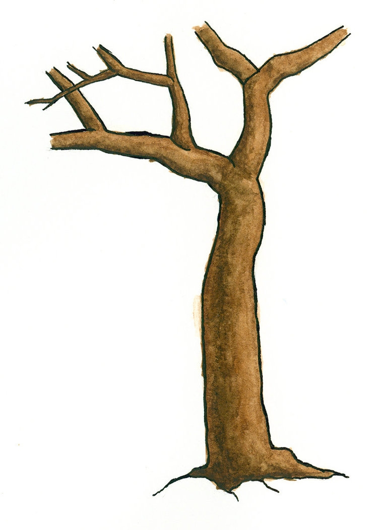 Brown clipart tree trunk Cliparts Tree Zone Cliparts Brown