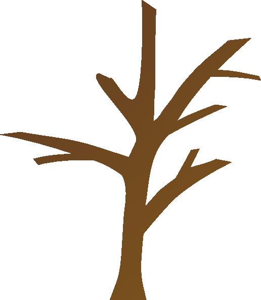 Brown clipart tree trunk  com domain com clip