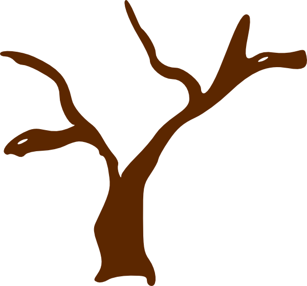 Branch clipart tree log Art this  as: Clker