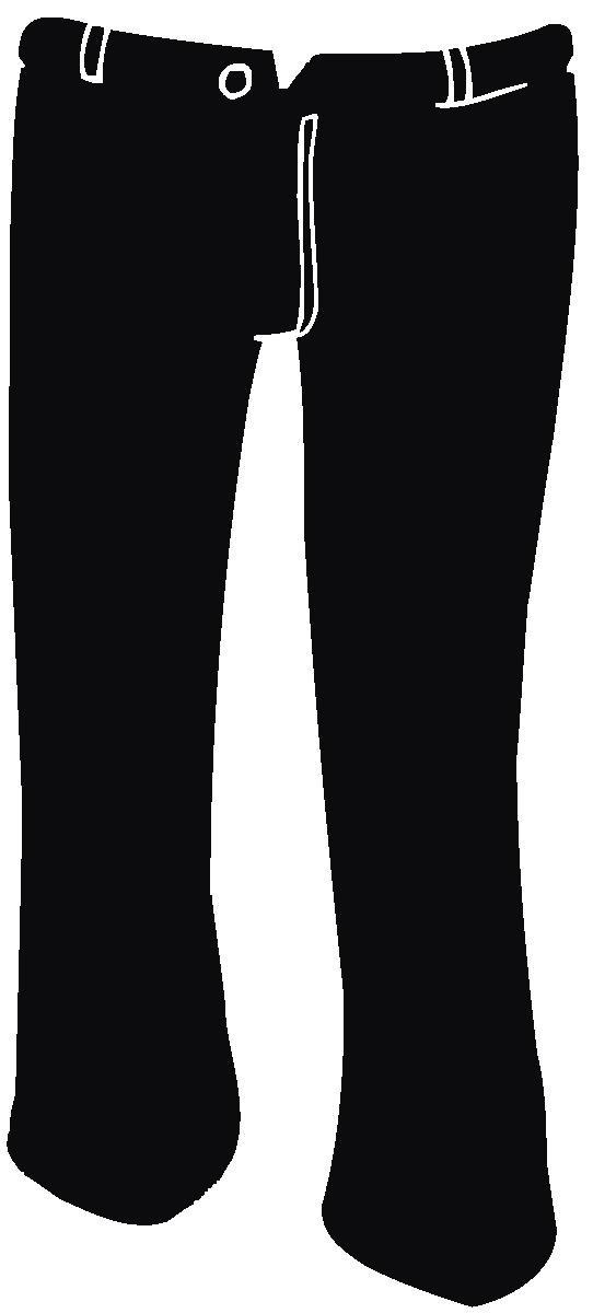 Santa clipart trousers #8