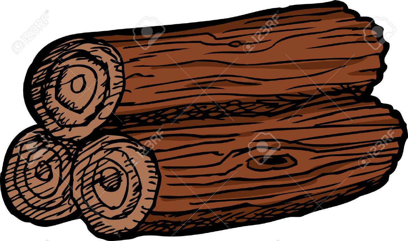 Timber clipart wood log Wooden logs Clipart logs wooden