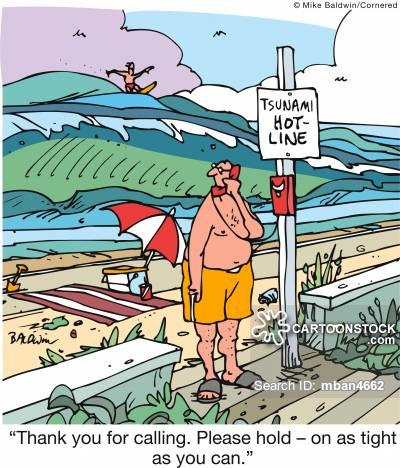 Tsunami clipart funny Tsunamis pictures from Comics cartoon