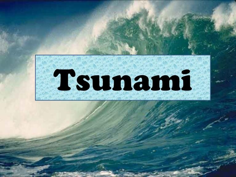 Tsunami clipart incoming Powerpoint  Tsunami