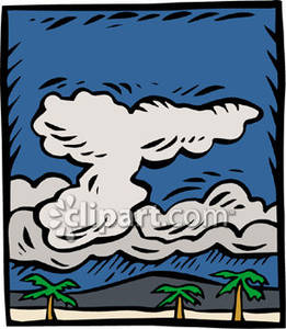 Tsunami clipart tropical storm Brewing Over Picture Picture Island