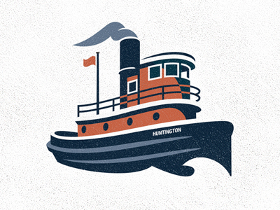 Tugboat clipart simple boat Tugboat Tugboat Smith Dribbble Clipart