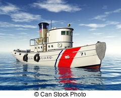 Tugboat clipart barge Tug boat Tug with Boat