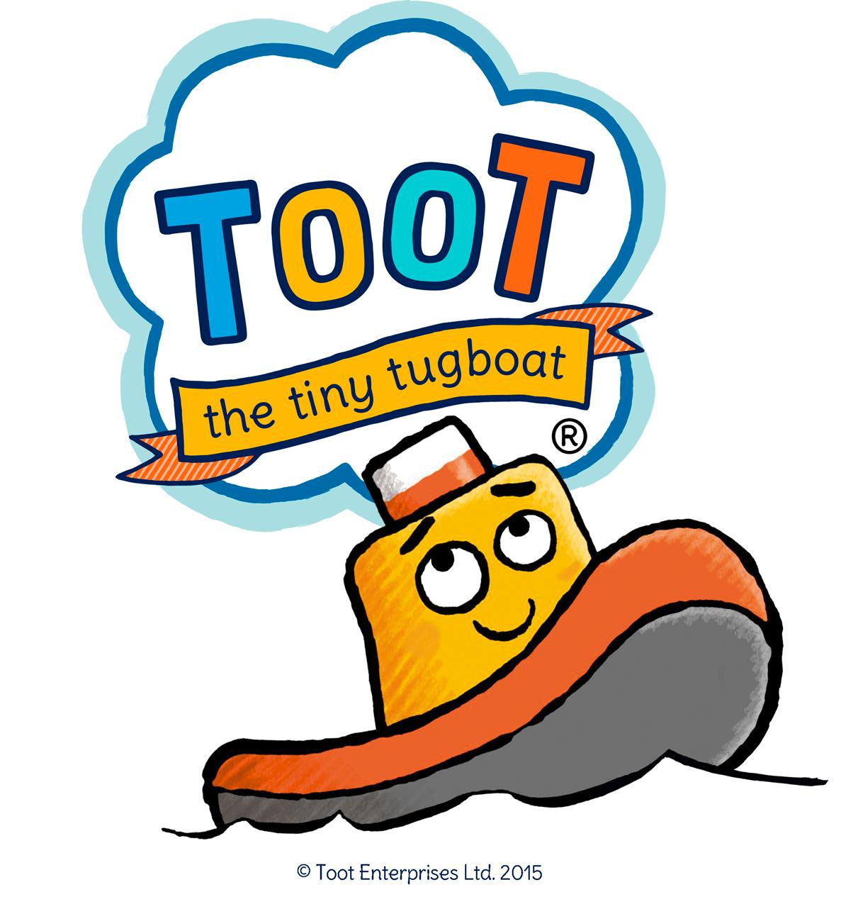 Tugboat clipart cartoon Toot  Tugboat the Tiny