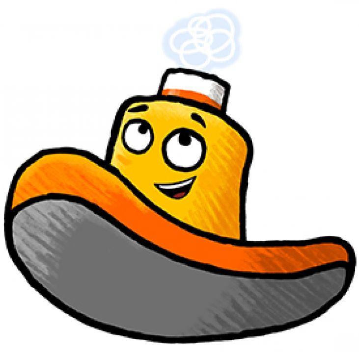 Tugboat clipart cartoon Toot UK  Tugboat the