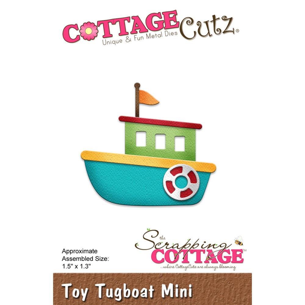 Tugboat clipart toy Die  Cutz Toy Cottage