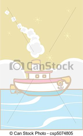 Tugboat clipart toy Clipart tugboat Toy  blows