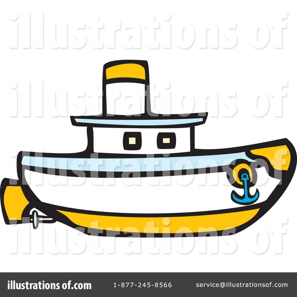 Boat clipart illustration By Royalty #435634 (RF) Free