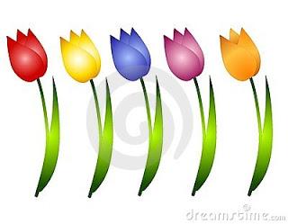 Tulip clipart bunga #4