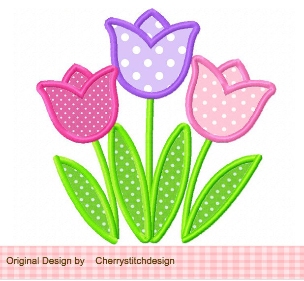 Tulip clipart cute #13