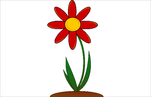 Tulip clipart may #8