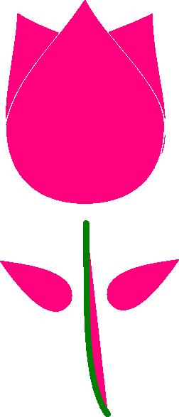 Tulip clipart purple tulip #6